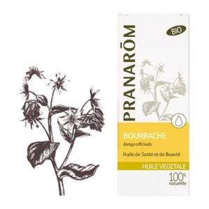 Pranarôm Huile Végétale - Bourrache Borago Officinalis BIO 50 ml Huile de santé et de beauté 5420008518324
