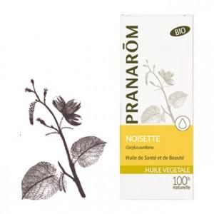 Pranarôm Huile Végétale Noisette Corylus Avellana BIO 50 ml Huile de santé et de beauté