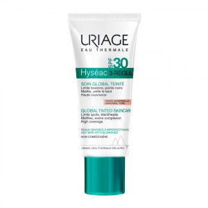 Uriage Hyséac 3-Regul - Soin Global Teinté SPF50+ - Teinte Universelle - 40 ml 3661434007859
