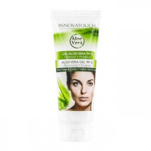 Innovatouch Cosmetic Aloe Vera - Gel Aloe Vera 99 % 200 ml Mains, visage et corps Hydratant et protecteur Sans paraben