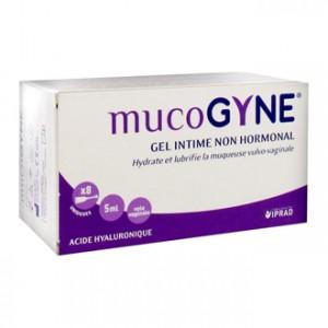 Iprad Santé Mucogyne Gel Intime Non Hormonal 8 Unidoses Hydrate et lubrifie la muqueuse vulvo-vaginale Non hormonal