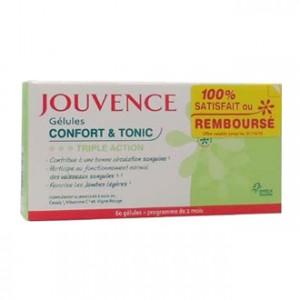 Jouvence Gélules Confort & Tonic Triple Action - 60 Gélules