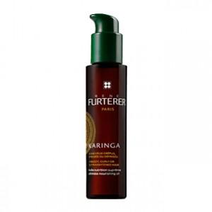 René Furterer Karinga - Huile Nutrition Suprême 100 ml Cheveux crépus, frisés et défrisés Sans rinçage, avant shampooing Sans silicone 100% d'actifs d'origine naturelle