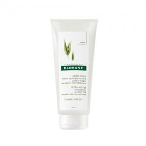 Klorane Baume Après-Shampooing au Lait d'Avoine - 200 ml Tous types de cheveux Usage fréquent A rincer 3282770106220