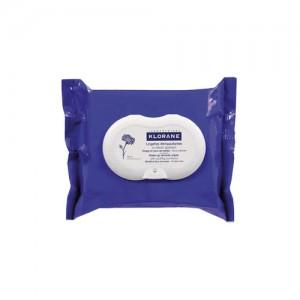 Lingettes Biodégradables Démaquillantes au Bleuet Apaisant - 25 Lingettes