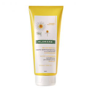 Klorane Reflets Blonds - Baume Après-Shampooing à la Camomille - 200 ml Cheveux blonds A rincer Sans paraben