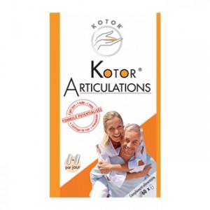 Kotor Articulations 60 Capsules 1 boîte = 1 mois Mobilité et élasticité articulaires doigts, cervicales, épaules, genoux