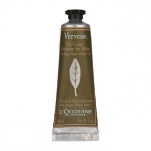 L'Occitane en Provence Verveine - Gel Crème Fraîcheur des Mains 30 ml Format voyage A l'extrait de verveine biologique Pénètre instantanément Hydrate les mains
