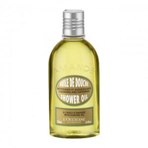 L'Occitane en Provence Amande - Huile de Douche - 250 ml A l'huile d'amande Nettoyante et adoucissante