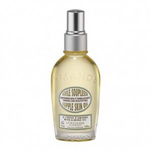 L'Occitane en Provence Amande - Huile Souplesse - 100 ml NOUVELLE FORMULE Hydratation 48H Raffermie et embellit la peau