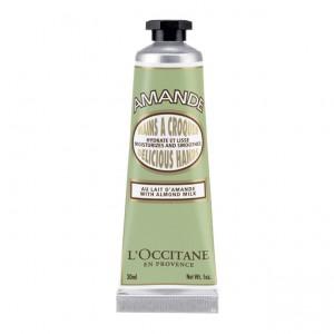 L'Occitane en Provence Amande - Crème Mains à Croquer - 30 ml Au lait d'amande Hydrate et lisse