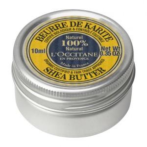 L'Occitane en Provence Mini Beurre de Karité Certifié BIO et Contrôlé Equitable - 10 ml Pur beurre de karité Enrichi en Vitamine E Nourrit et adoucit