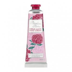 L'Occitane en Provence Pivoine Flora - Crème Mains - 30 ml Adoucit et nourrit la peau