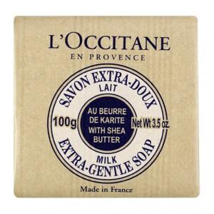 L'Occitane en Provence Savon Extra-Doux Lait au Karité - 100gr Au beurre de karité A base de 100% huiles végétales