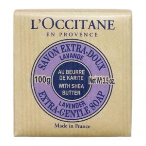 L'Occitane en Provence Savon Extra-Doux Lavande au Karité - 100gr Au beurre de karité A base de 100% huiles végétales