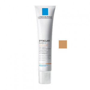 La Roche Posay Effaclar Duo (+) Unifiant - Teinte Medium - 40 ml Soin teinté anti-imperfections, correcteur, désincrustant, anti-marques