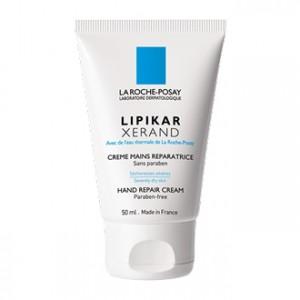 La Roche Posay Lipikar - Xerand Crème Mains Réparatrice 50 ml Sécheresse sévères Texture inchangée Sans paraben