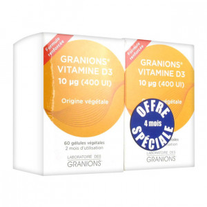 La boratoire des Granions - Granions Vitamine D3 DUO 3760155211559