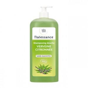 léa nature natessance shampooing douche verveine citronée 1 litre bio sans sulfate sans savon