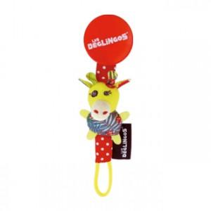 Les Déglingos Accroche Tétine Operchos La Girafe Découvrez les dinglegos ! Longeur 20 cm Lavable en machine