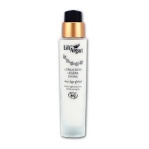 LIFT' ARGAN - Emulsion Légère Divine 50ml - Soin Anti-Age global pour les peaux mixtes à normales - Beauté Visage Hypeprara 3517360005219