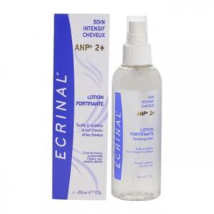 Ecrinal Lotion Fortifiante à l'ANP2+ 200 ml Tonifie et revitalise le cuir chevelu et les cheveux Chute de cheveux occasionnelle Cheveux secs cassant, abîmés
