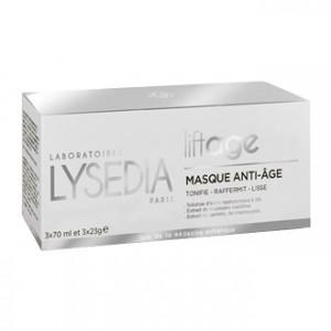 Lysedia Liftage - Masque Anti-Âge 3 Masques Tonifie, raffermit et lisse