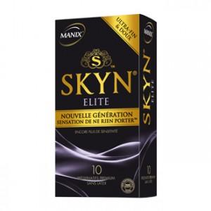 Manix Skyn Elite 10 Préservatifs sans latex, ultra-fin et doux