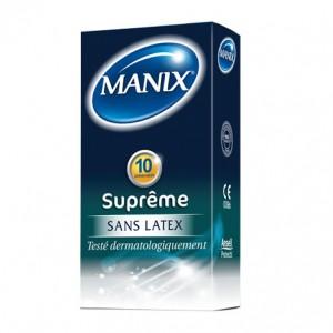 Suprême Sans Latex Préservatifs Boite de 10