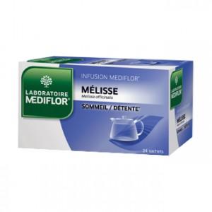 Mediflor Infusion - Mélisse 24 Sachets Favorise le sommeil et la relaxation