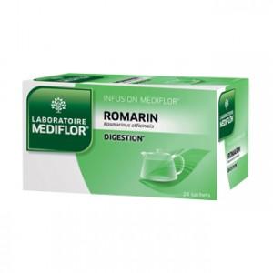Mediflor Infusion - Romarin 24 Sachets Favorise la digestion