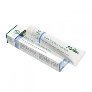 melvita dentifrice dents blanches lot de 2 arôme menthe dentifrice bio hygiène dentaire hyperpara