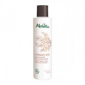 Melvita L'Argan Bio - Lait Velouté - 200 ml Adoucit et revitalise 3284410038632