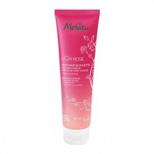 Melvita L'Or Rose - Gommage Silhouette - 150 ml Aux baies roses & à l'huile de rosier muscat Lisse & sublime BIO