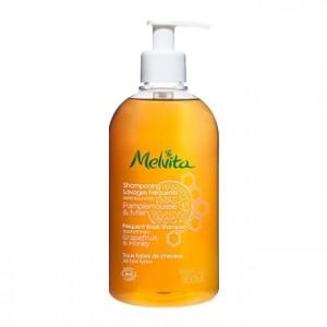 Melvita Shampooing Lavages Fréquents 500 ml Sans sulfates Tous types de cheveux Shampooing BIO