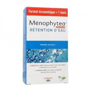 Ménophytea Silhouette Rétention d'Eau 60 Comprimés Format économique = 1 mois Nouvelle Formule ! Favorise l'élimination de l'eau et des toxines Femme 45 ans +
