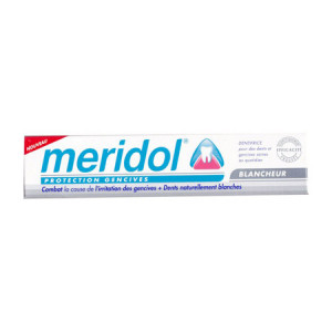 meridol dentifrice protection gencives blancheur 75 ml hygiene dentaire hyperpara