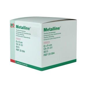 Métalline Compresses pour Trachéo