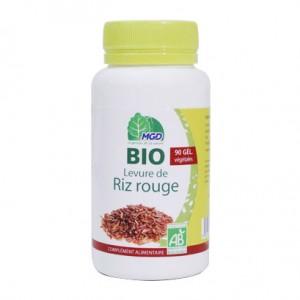MGD Levure de Riz Rouge BIO - 90 Gélules BIO Contribue à taux de cholestérol normal