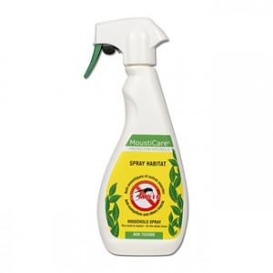 mousticare spray habitat 500 ml, anti-moustiques et autres insectes pour toute la maison, non toxique et efficace durant 1 mois