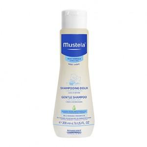 Mustela Peau Normale - Shampooing Doux - 200 ml Cheveux délicats Lave et démêle Hypoallergénique 0% paraben