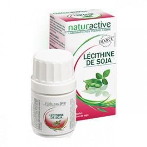 Naturactive Lécithine de Soja 60 Capsules Protection et Défenses naturelles Origine France garantie