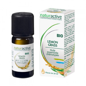 naturactive lemon grass huile essentielle chemotypee bio 10 ml hyperpara