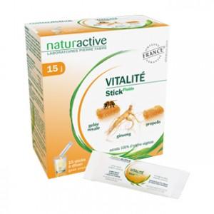Naturactive Vitalité Stick Fluide 15 Sticks