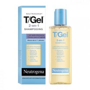 Neutrogena T/Gel 2 en 1 Shampooing + Soin Cheveux Secs et Fragilisés 125 ml soin capillaire