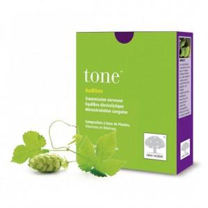 New Nordic Tone 60 Comprimés Aide à préserver et maintenir une bonne audition. Aide à lutter contre les bourdonnements, les bruits et les sifflements d'oreille