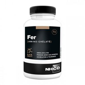 NHCO Nutrition Fer [Amino Chélaté] 84 Gélules Apport de fer à l'organisme