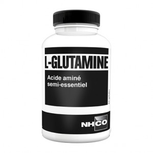 NHCO Nutrition L-Glutamine - 84 Gélules Acide aminé semi-essentiel