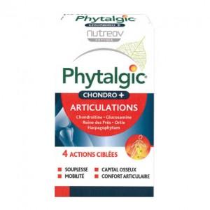 Nutreov Phytalgic Chondro + Articulations - 30 Comprimés 4 actions ciblées Souplesse, mobilité, capital osseux et confort articulaire Formule experte acide hyaluronique 3401560187908