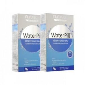 WaterPill - Rétention d'Eau - Pack de 2 - 50% Réduction sur le Second - 60 comprimés